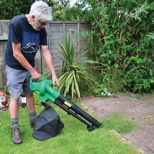 2-In-1 2600W Garden Gear Electric Leaf Blower Vacuum Shredder Mulcher 35L