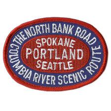 Patch- SPOKANE PORTLAND & SEATTLE Railroad The North Bank Rte (SPS) # 8930 -NEW