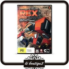 Generator Rex - The Day That Everything Changed : Vol 1 (DVD, 2011, 2-Disc Set)