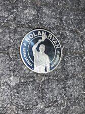 Nolan Ryan 1993 Public Of Liberia Silver Coin 10 Dollars Fine Silver