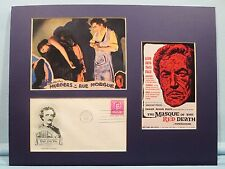 Murders in the Rue Morgue & First Day Cover of the Edgar Allan Poe stamp