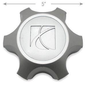 "Saturn Center Caps Hubcaps Outlook 18"" Wheel 07 08 09 10 OEM 9596876"