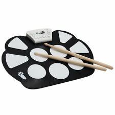 Elektronisches Schlagzeug, Roll Up Elektronische Trommel, E- Drum, 10 Pads