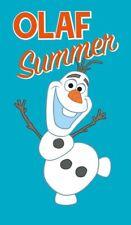Frozen Disney Die Eiskönigin Strandtuch Olaf Summer türkis 100 % Baumwolle 2415