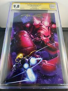 GUARDIAN OF THE GALAXY #1 VARIANT COVER CGC 9.8 CRAIN SIGNED