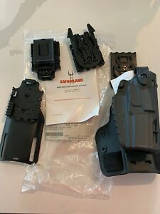 Safariland LE-MIL-KIT2-411 RH Holster Black SIG 4.7 P250 P320 9mm 40 S&W
