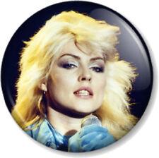 "BLONDIE Debbie Harry 25mm 1"" Pin Button Badge Rock Pop Punk Band Music Atomic"