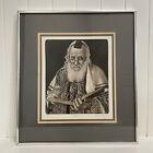 "Charles Lynn Bragg Signed & Numbered ""Rabbi"" Etching w/ COA 55/200"