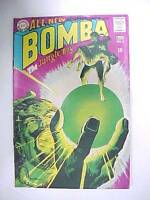 1968 DC Comics BOMBA The Jungle Boy #6 VG to FN 12 cent Comic Book