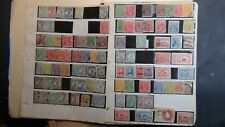 Australia classics stamp collection on homemade pages w/ est. many many 100's