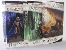 Dark Elf Trilogy / Legend of Drizzt Series Books 1-3 by R.A. Salvatore (MM PB)