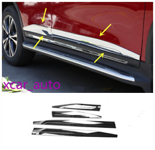 For Nissan Rogue X-trail 2014-2019 ABS Chrome Side Door Body Molding Cover Trim