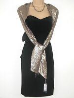 LAURA ASHLEY VINTAGE LITTLE BLACK VELVET LACE BUSTLE BOW PARTY DRESS,10/12