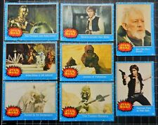 Star Wars 1977 trading cards x 8