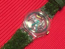NEW VINTAGE SWATCH CLUB SPECIAL GARDEN TURF WATCH SKZ103 MENS/LADIES/BOYS/GIRLS