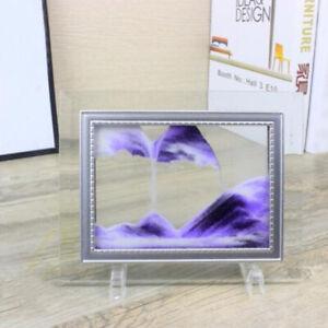 Sand Motion Art Moving Sand Frame Flowing Sand Picture 3D Sandscape in Motion