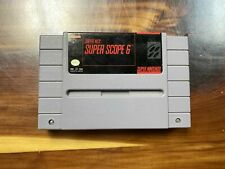 Super Scope 6 SNES Cartridge - TESTED