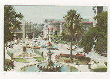 Trafalgar Square Barbados West Indies 1985 Postcard US061
