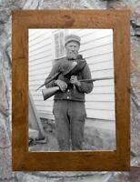 "Vintage Hunting Hunter Holding Pheasant ... Antique Hunting 5"" x 7""  Photo Print"