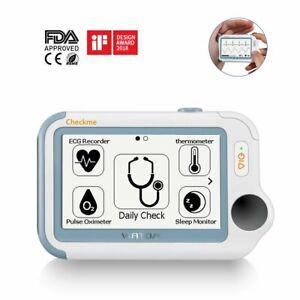 Checkme Pro Mini Vital Sign Monitor, CE ECG Monitor with APP PC Report