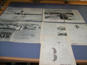 "SAVIOA S-55 ""ITALIAN IMMIGRANT"" & HAWKER FURY MK.I..HISTORY/4-VIEWS (495W)"