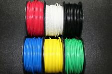 12 GAUGE WIRE 6 COLORS 10 FT EACH 60 FT POWER GROUND PRIMARY AWG REMOTE CABLE