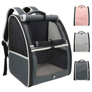 Cat Carrier Backpack Small Pet Dog Soft Sided Comfort Bag Travel Up to 16 lbs