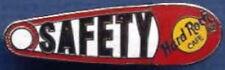 """Hard Rock Cafe Staff 2000 Rot & Weiß """" Sicherheit """" Sicherheitsnadel - Hrc"""
