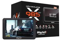GPS Navi für Europa, USA & Kanada, Modell x985 in der EU+ Edition