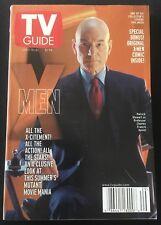 TV GUIDE: JULY 15 - 21 ~ X-MEN ~ Patrick Stewart as Professor Charles Xavier