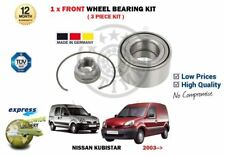 FOR NISSAN KUBISTAR 1.2 1.5DT 2003--> NEW 1X FRONT WHEEL BEARING SET 3 PIECE