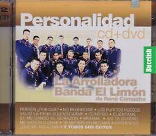 La Arrolladora Banda El Limon De Rene Camacho Personalidad CD+DVD New Nuevo
