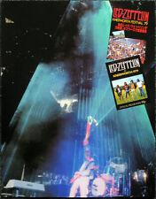 LED ZEPPELIN POSTER PAGE . 1979 KNEBWORTH FESTIVAL CONCERT JIMMY PAGE . V21