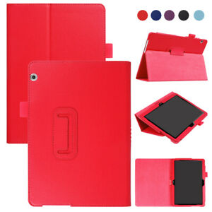 Slim PU Leather Stand Tablet Cover Case For Huawei MediaPad T5 10 T3 10 T3 9.6''