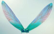 Childs Pixie Wings Fairy Princess Turqoise Fancy Dress