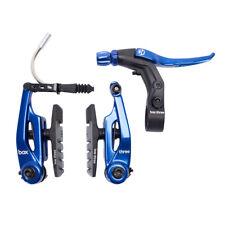 BRAKE KIT BOX THREE V Caliper 85mm w/LEVER BLUE AND CABLE SHORT MINI BMX