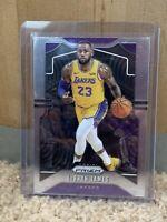 2019-20 Panini Prizm LeBron James #129 Base Card - Los Angeles Lakers
