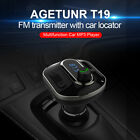 Wireless Car FM Transmitter MP3 Player Dual USB Charger Hands Free Radio Kit US`