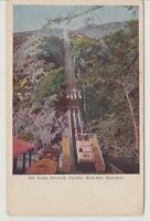 Vintage Railway  POSTCARD THE GREAT INCLINE, MT. LOWE RAILWAY, CALIFORNIA