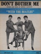 Don't Bother Me Sheet Music - The Beatles