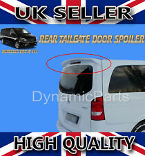 MERCEDES VITO W447 REAR TAILGATE ROOF SPOILER WING STYLE 2014 ONWARDS (PRIMED)
