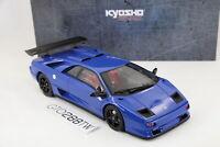 Kyosho/GT Spirit 1:18 scale Lamborghini Diablo SVR - Blue(LE 500) KYKSR18510BL