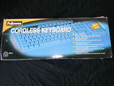 2002 Fellowes Cordless Keyboard PS-2 in box