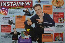 MIKE SINGER - 2 Seiten Bericht - Clippings Artikel Fan Sammlung NEU
