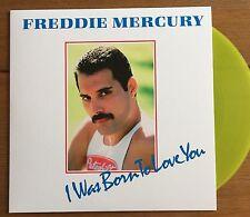 "Freddie Mercury - I Was Born To Love You   7"" Yellow Vinyl Queen"