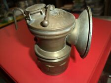 New listing Vintage Guy's Dropper Auto-Light Brass carbide light lamp ( Nice condition