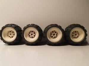 Lego Technic Technik Reifen 43,2x28 S mit Felge 4 Stk