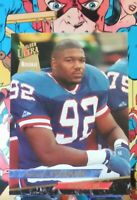 1993 FLEER ULTRA MICHAEL STRAHAN ROOKIE #331 NEW YORK GIANTS HOF