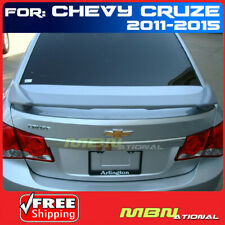 11 15 For Chevrolet Cruze 2 Post Rear Trunk Spoiler Painted Wa8624 Summit White Fits Cruze