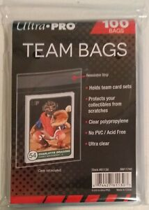 Ultra Pro Team Bags Resealable Card Set Toploader Sleeve - 100ct in one Pack